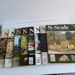 Lot Of 8 Model Train Magazines 1996 - 2007 N-scale, Classic Toy Trains
