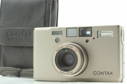[exc+5 + Case] Contax T3 Point And Shoot Film Camera Carl Zeiss Lens From Japan