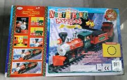 27 Piece North Pole Express Christmas Train Set Musical New Open Box Excellent
