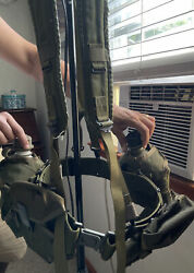 Us Military Issue Alice Field Gear Belt Suspenders Ammo 2 Pouches 2 Canteen