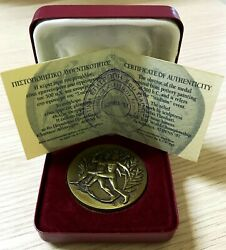 Greece Athens Medal 1997 6th Iaaf World Championships Rare Only 970pcs.
