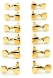 Taylor 12-string Guitar Tuners 118 Ratio - Polished Gold