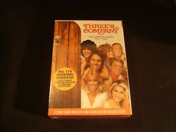 Threeand039s Company The Complete Series Season 1977 - 1984 Dvd Brand New Sealed