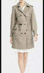Authentic Coach Long Trench Coat Xs