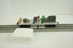 Custom O Scale Track Cleaning Car With Pads For Lionel Mth Train Accessories