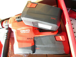 Hilti Te 60-a36 Heavy-duty Concrete Drilling Cordless Rotary Hammer Charger 2bat