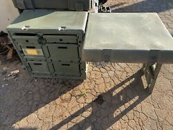 Field Desk Current Issue Hardigg Brand Used With All Drawers Military Issue