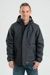 Nwtand039s Berne Workwear Coastline Waterproof Insulated Storm Jacket L And Xl Tall