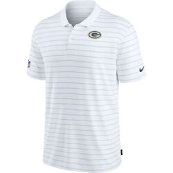 New Nfl Green Bay Packers Nike Sideline Victory Coaches Performance Polo Shirt