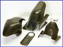 2001 Zx-12r A-tech Carbon Front Rear Fender And Tank Top Plate Set Yyy
