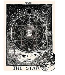 """Astrological Celestial Tarot """"The Star"""" Wall Hanging"""