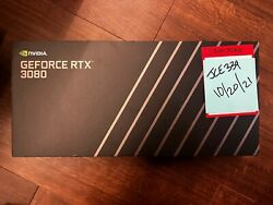 🚀ships Today Fedex 2day🚀 Nvidia Geforce Rtx 3080 Founders Edition Fe 10gb