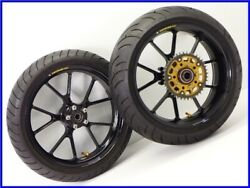 2003 Gsx1300r Hayabusa Aluminum Forged Wheel Front And Rear Set With Rear Sprocket