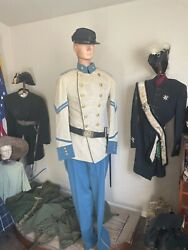 1866-1897 Indian War Uniform And Hat Original And Authentic