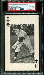 1962 Pittsburgh Exhibits Whitey Ford Hof Queen Clubs Pop 2 Psa 6 B2622941-513