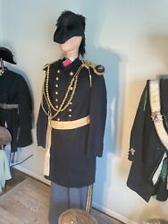 1866-1897 Indian War Uniform Original Offers With Hat And Sash Trousers.