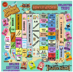 1.11update Animal Crossing Treasure Island Unlimited Trips ACNH With Auto Refill