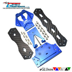Alloy+carbon Fiber Upper Chassis Plate For Losi 1/10 Lasernut Tenacity Ultra 4