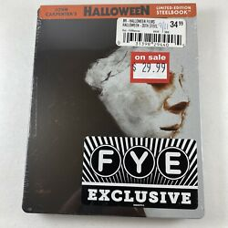 Halloween 1978 Blu-ray Exclusive Limited Edition Steelbook Oop Rare Brand New