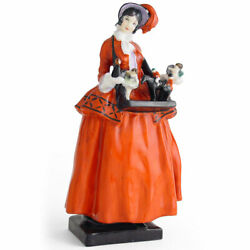 Rare Royal Doulton Figure And039sketch Girland039 Advertising Figure - Uk Made