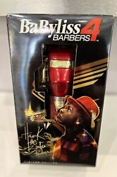 Babylisspro Redfx Cordless Clipper – Limited Edition Hawk The Barber Prodigybaby