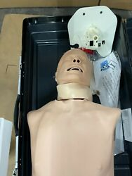 Laerdal Deluxe Difficult Airway Management Trainer Manikin And Case Pn 261-10001