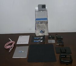 Gopro Hero7 White Waterproof Action Camera With 128gb Card And Accessories