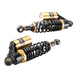 Adjustable 11 280mm Air Shock Absorbers For Scooters Moped Quad Street Bikes