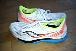 Lightly Used Saucony Endorphin Pro Menand039s Race Running Shoes Size 10.5 Carbon