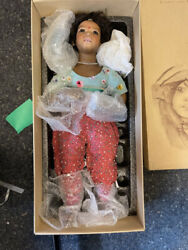 Annette Himstedt Porcelain Doll Mohini 28 5/16in Limited 23/80. Top Condition