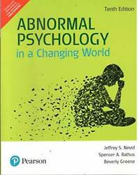 Abnormal Psychology in a Changing World Paperback ACCEPTABLE