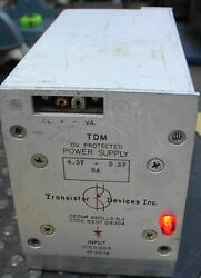 Transistor Devices Tdm 5 Volt Dc Power Supply At 5a