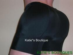 Butt And Hip Enhancer Booty Padded Booster Boyshorts Mid Rise Boxer Shortie S-2xl