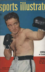 Sports Illustrated, March 1949, Marcel Cerdan Cover