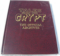 Tales From The Crypt Official Archives Hardcover Rare Hc Ec Limited To 500 Red