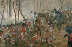 Battle Of Guilford Courthouse By Don Troiani