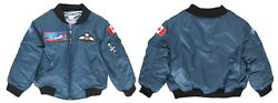 Children's Canadian Air Force Rcaf Flight Jacket From Up And Away