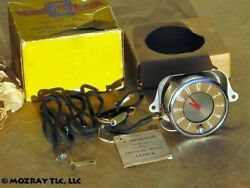 Oldsmobile Electric Panel Clock Accessory Kit 66_68_76_78_98 1942 Nos