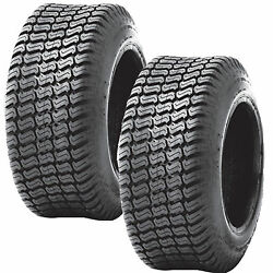 2 20x8.00-10 20/8.00-10 Riding Lawn Mower Garden Tractor Turf Tires P332 4ply