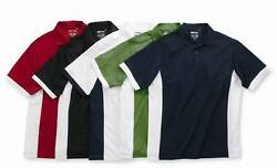 Adidas Golf - Menand039s A28 S-3xl Climacool Polo Colorblock Dri Fit Sport Shirts