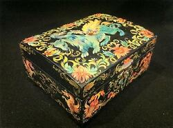Wooden Hand Painted Trinket Box Dragon Lucky Best New Year Giftauthor Signed
