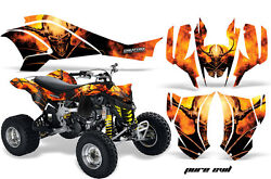 Can-am Ds450 Graphics Kit Decals Stickers Creatorx Pure Evil B