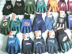 Nfl Gloves Choose Your Team New, Also Use In Winter Or For Driving
