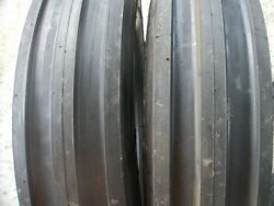 Ford Tractor 2 13.6x28 8 Ply Tires W/wheels And 2 650x16 3 Rib W/tubes