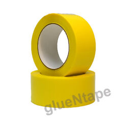 Yellow Color Carton Sealing Packing Tape 2 X 330and039 / 48 Mm X 110 Yards 36 Rolls