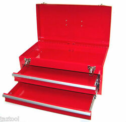 Heavy Duty 20 Metal Tool Chest Toolbox Cabinet 2 Drawers Storage Tool Box