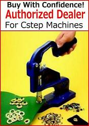 3/8 Machine + 2 Dies And 500 Grommets Banner Sign Tool Setter Cstep-2 2 W/500