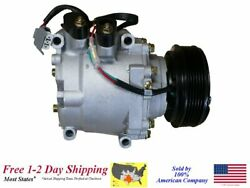 NEW AC AC COMPRESSOR with clutch FOR: 2002-2005 HONDA CIVIC (1.7L only)