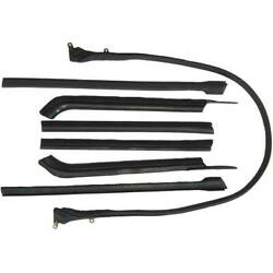1965-1970 Buick Cadillac Oldsmobile Convertible Roof Rail Weatherstrip Set