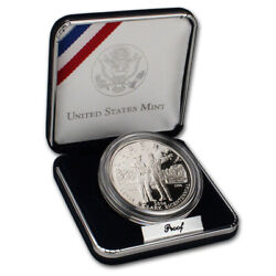 2004-p Us Lewis And Clark Bicentennial Commemorative Proof Silver Dollar